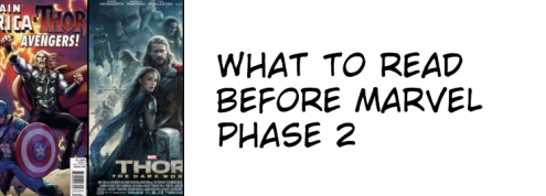What to Read before Marvel Phase 2