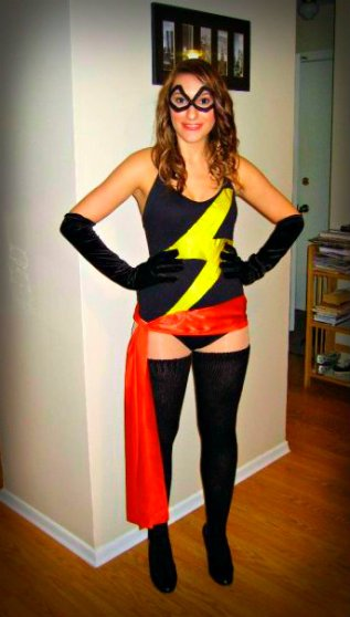 Ms. Marvel Cosplay
