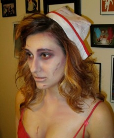 Side detail - The Walking Dead Zombie Cosplay