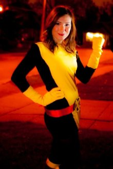 Don't mess with the X-Men! - Kitty Pryde Shadowcat Cosplay