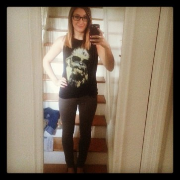 Fan Expo Outfit Day 1: Hipster Chewie!