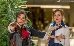 Sam Maggs Rule 63 Femme Booker Cosplay Bioshock Infinite and Hilary Craig as Elizabeth